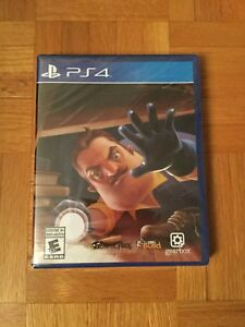 Details about Hello Neighbor PS4 (Sony PlayStation 4, 2018) Rare Misprint  Label Missing Title