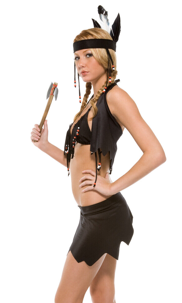 Sexy womans adult indian girl costume set