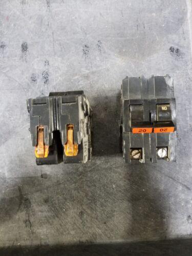 FPE Federal Pacific NA NA220 2 Pole 20 Amp 120//240V Circuit breaker