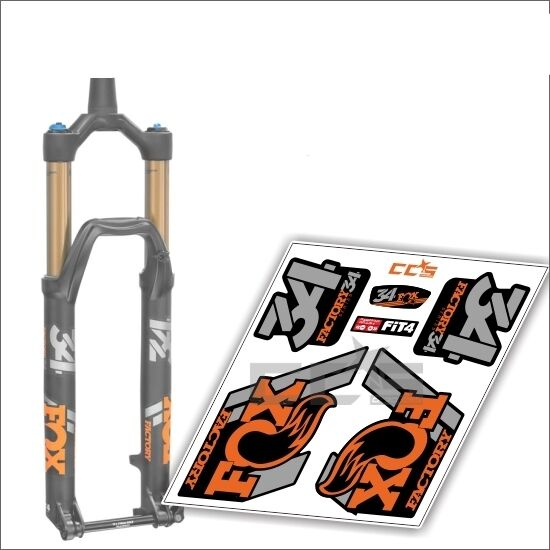 Fox 36 STEALTH FORK Stickers Decals Graphics Mountain Bike Down Hill MTB 2015