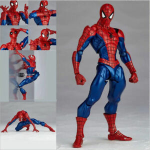 Kaiyodo-Revoltech-Amazing-Yamaguchi-Spider-Man-Action-Figure-Toy-New-in-Box