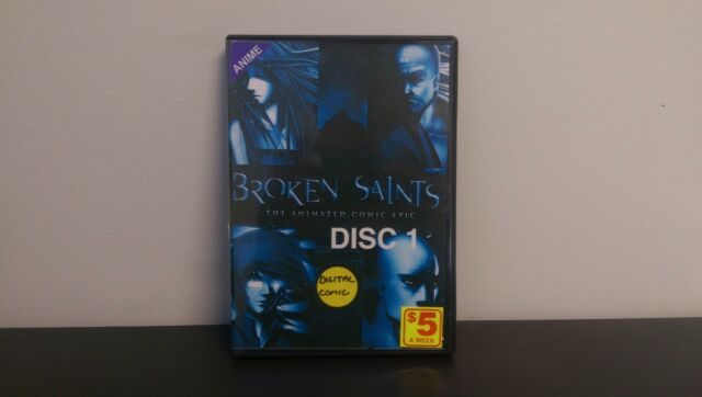 Broken Saints: The Animated Comic Epic - Complete DVD Collection