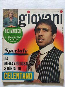 RIVISTA-GIOVANI-N-20-1967-ADRIANO-CELENTANO-ROLLING-STONES-NINI-ROSSO
