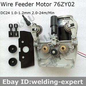 migstar 250 MIG MAG Welding CO2 Mig Wire Feed Motor 24V 1.0-1.2mm ...