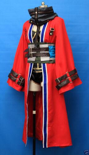 Final Fantasy X Auron Female Vesrion Cosplay Costume Custom Made !COS