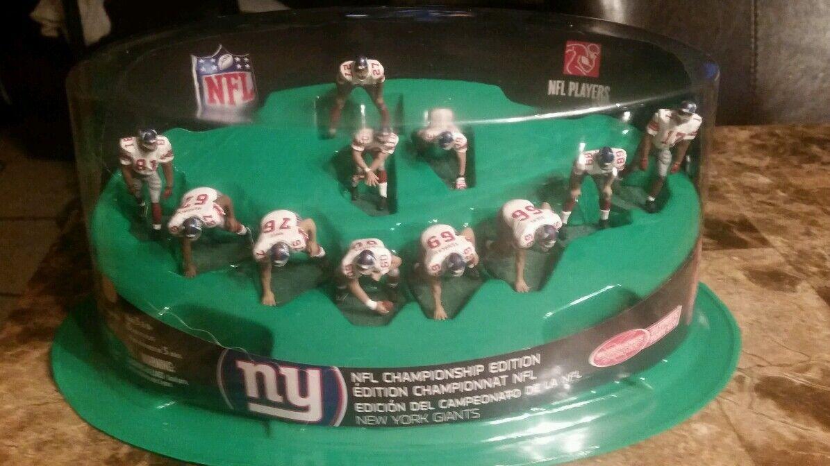 McFarlane  NFL Ultimate squadra Sets - 2008  nuovo York Giants Championship  incredibili sconti