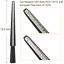 thumbnail 2 - Ring Sizer Guage Mandrel Finger Sizing Measure Stick Jewelry Tool Plastic USA