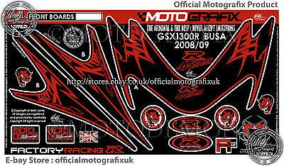 Suzuki Hayabusa GSX1300R 08 Front Fairing Number Board Motografix Gel Protector