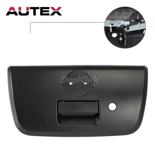 81575 Tailgate Handle /& Bezel Keyhole Textured Black for 01-2004 Nissan Frontier