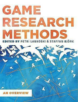 Game Research Methods: An Overview, Brand New, Free P&P in the UK