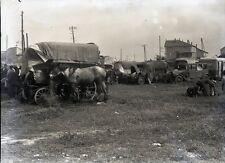 SAINTES MARIES DE LA MER c. 1935 - Camp Gitans Négatif Verre - V9 360