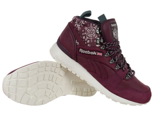 Reebok Classic GL 6000 Mid SG High Top Sneakers Winter Mens Shoes