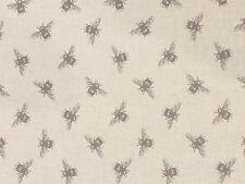 Fryett's tessuti API lino tessuto Rimanente 50 cm x 40 cm 100% COTONE