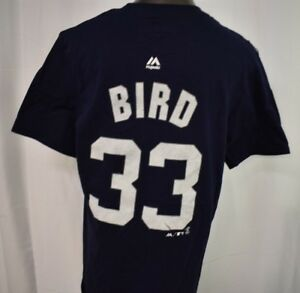 low priced f84e2 72773 Details about Majestic Youth Boys New York Yankees Greg Bird Shirt LOOK XL