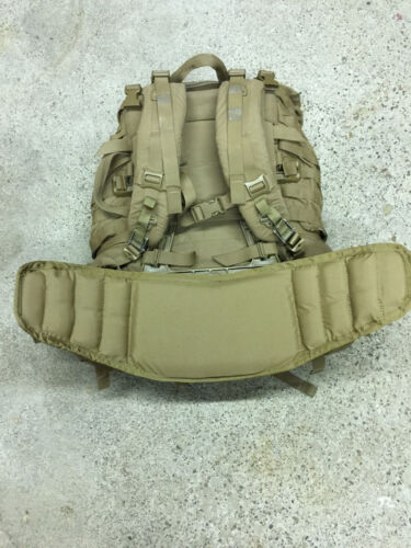 USMC FILBE Coyote complete BackPack rucksack field pack+WET WEATHER BAG /&Pouches