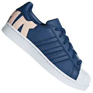 adidas originals superstar bleu marine