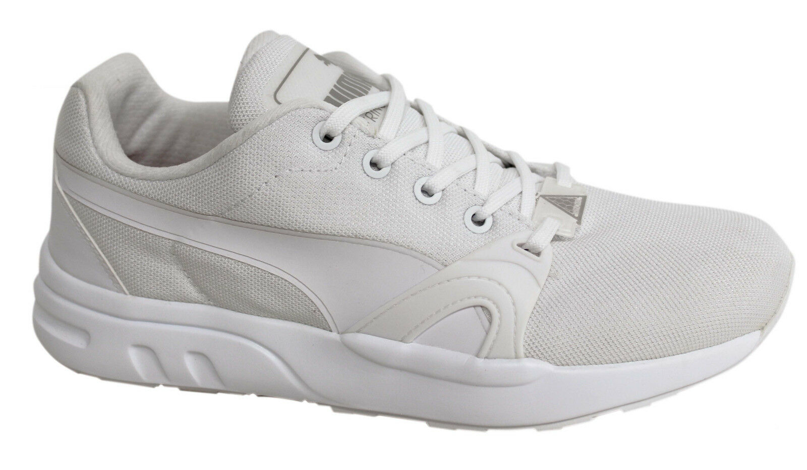 Puma Trinomic XT S Mens Weiß Lace Up Trainers Running schuhe 359135 03 U101