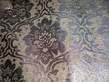 Polsterstoff Möbelstoff Stoff Barock Antik Neu Jaquard Chenille Webstoff Grau