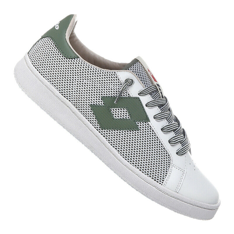 Lotto Autografata Net Sneakers Bianco green F1XV