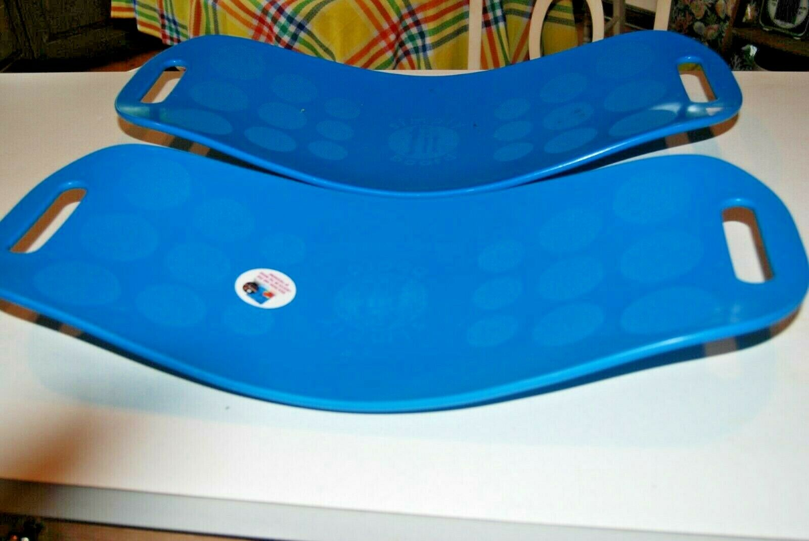 Simply Fit Workout Board as Seen on TV Blue Twist Rated to 400 Lbs for sale online