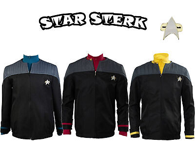 Star Trek Halloween NEM Duty Uniform Outfit Cosplay Costume Top Casual Jacket