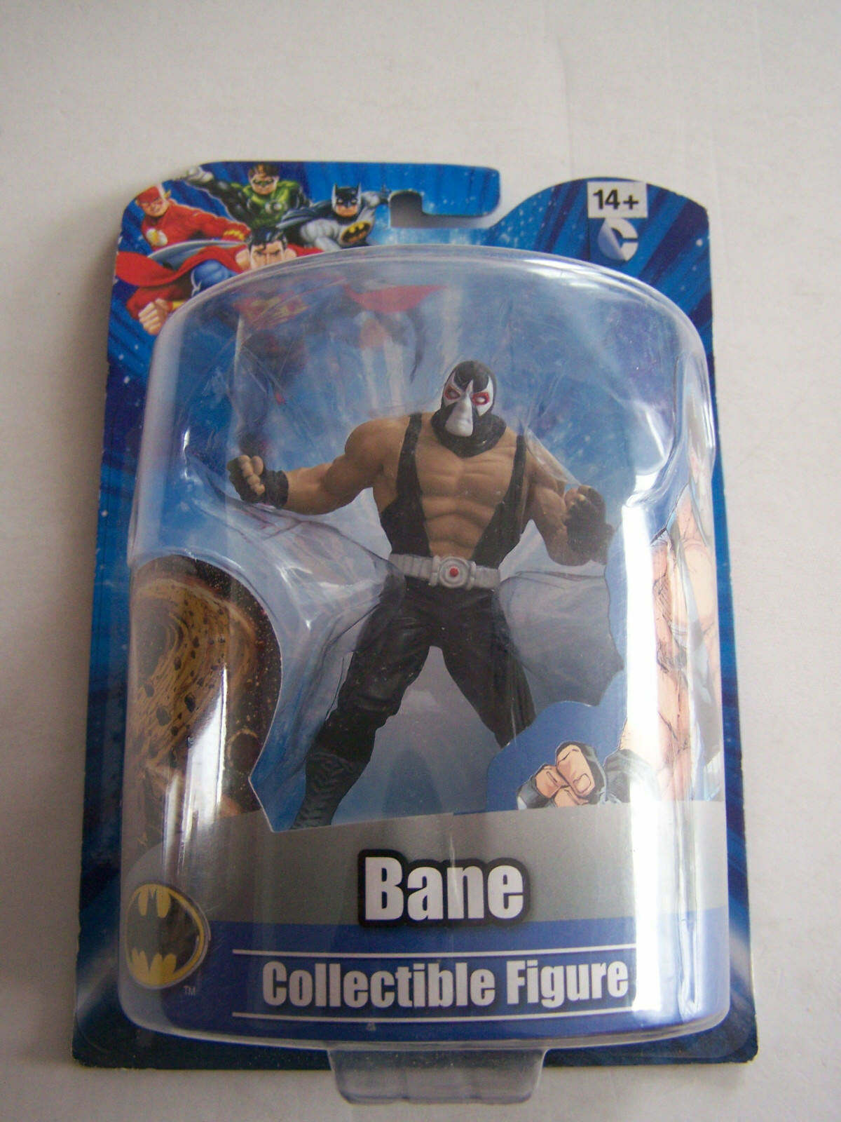 DC COMICS FIGURINE WB SHIELD WARNER BROS , BANE , SOUS BLISTER . NEUF .