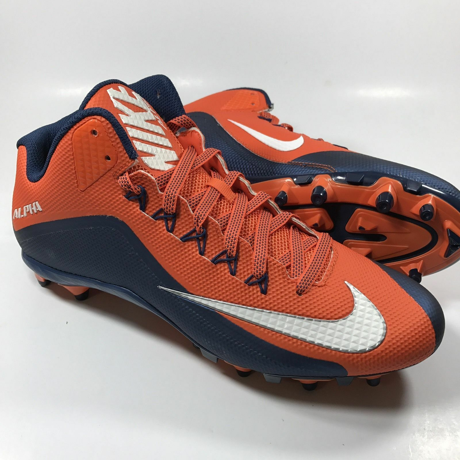 Nike Alpha Football Cleat 729445-810 Limited Print Size 15