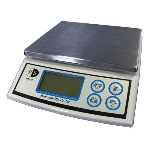 Penn Scale Digital Scale PS20, 20 lb x 0.2 oz