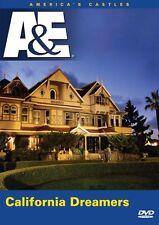 America's Castles - CALIFORNIA DREAMERS A&E DVD NEW