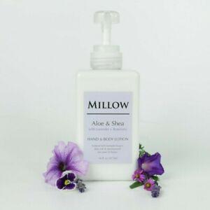 MILLOW-Natural-Aloe-amp-Shea-Body-Lotion-Lavender-amp-Rosemary-16-fl-oz