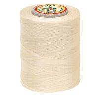 15astar Cotton Machine Quilting Sewing & Craft Threadpongee Cream30wt-sz 50