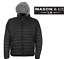 Men-s-Slim-Fit-Lightweight-Zip-Insulated-Puffer-Hooded-Jacket-By-Mason-amp-Co thumbnail 2