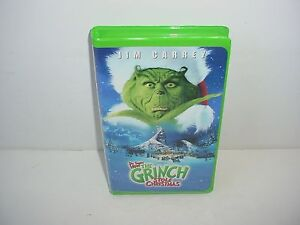 How The Grinch Stole Christmas 2000 Vhs.Details About How The Grinch Stole Christmas Vhs Video Tape Movie Clamshell