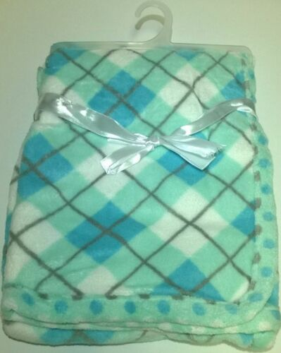 Baby Blanket Super Soft Plush 30 x 40 Multiple Colors /& Prints