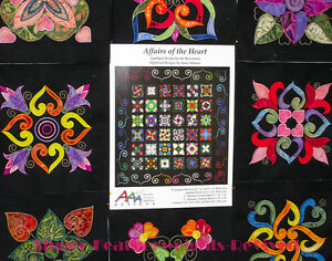 Affairs of the heart embroidery machine applique design software