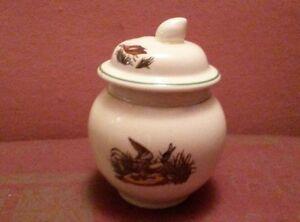 Adams Micratex Ironstone lidded pot with duck design - Newport, United Kingdom - Adams Micratex Ironstone lidded pot with duck design - Newport, United Kingdom