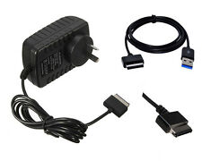 AC Home Wall Charger power adapter &USB Cable for Asus Transformer TF201 TF101