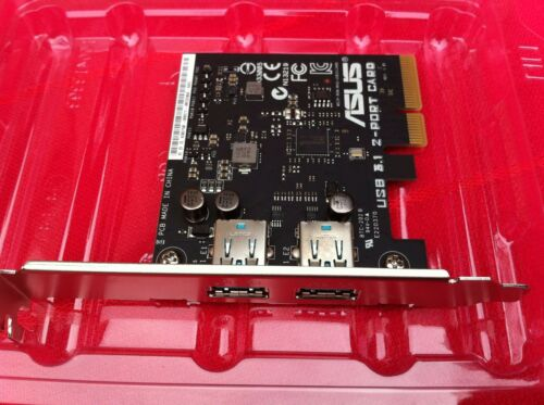 Asus 2 Port USB 3.1 Card PCI Express FOR ROG MAXIMUS IX FORMULA ORIGINAL ONE