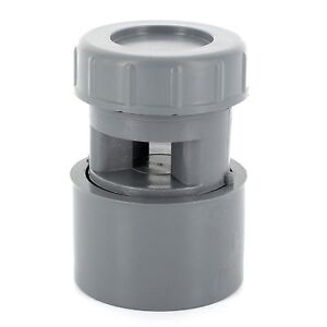 Clapet équilibreur de pression  Aérateur à membrane Anti-odeur 32 / 40 / 50 mm