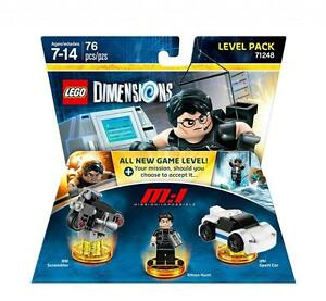 LEGO-DIMENSIONS-71248-LEVEL-PACK-mission-impossible-Ethan-Hunt-costruzioni-nuovo