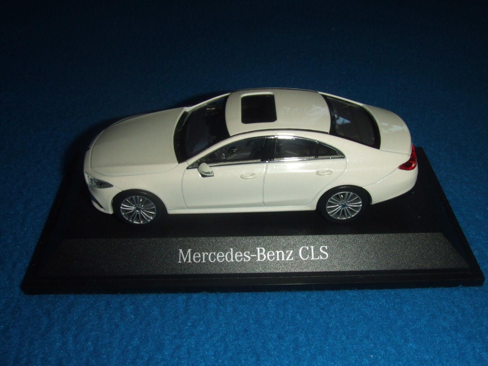 Mercedes bemz c 257 CLS Coupe 2018 diamante blancoo blancoo blancoo 1 43 nuevo embalaje original 7b04c9