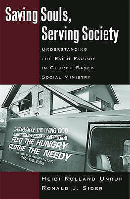 Saving Souls, Serving Society: Understanding the Faith Factor in Church-Based...