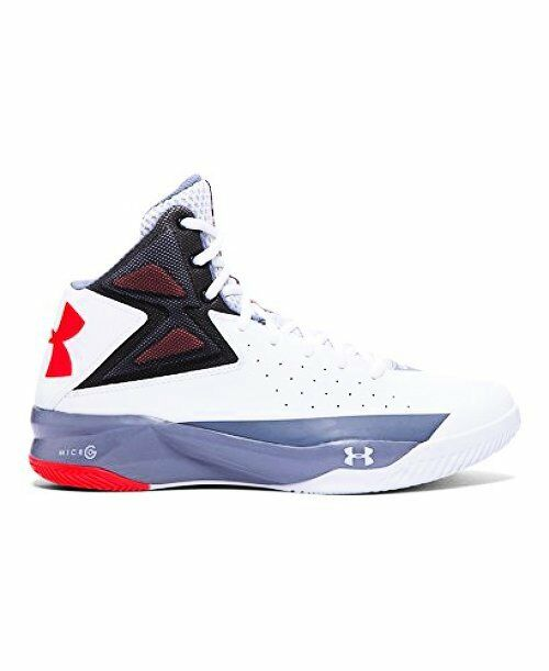 Under Armour 1264224-102 Mens UA Rocket Basketball schuheWeiß- Choose SZ Farbe.
