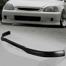 For 1999-2000 Honda Civic DX LX EX Type-R Polyurethane Front Bumper Body Kit Lip