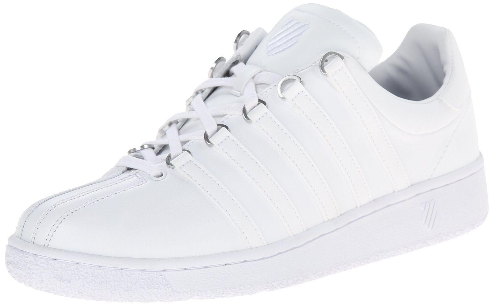 K-Swiss Classic VN Moda Tenis Para Hombre blancoo blancoo 12 D (M) nos
