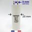 miniature 2 - Condensateur 5.5 uF (5,5 µF) pour moteur SOMFY ou SIMU de volet roulant ou store