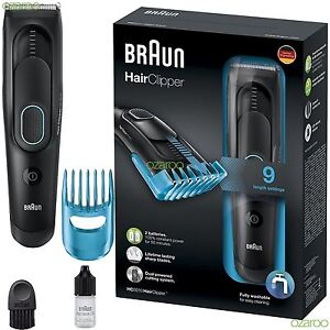 Braun-HC5010-Mens-Hair-Clipper-Cordless-Rechargeable-Electric-Trimmer-Shaver-Kit