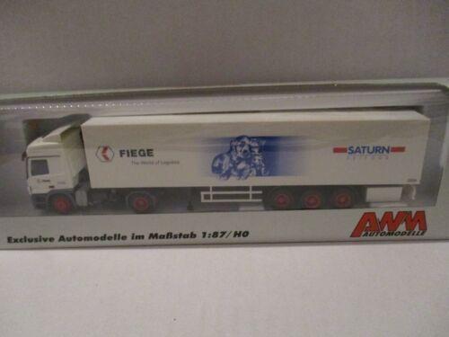 AWM MERCEDES-BENZ MB Camion Truck Fiege the World of logistics 1//87 OVP