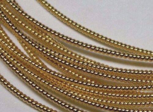 Pearl Purl Benton /& Johnson Goldwork Gilt metal embroidery thread-choose size