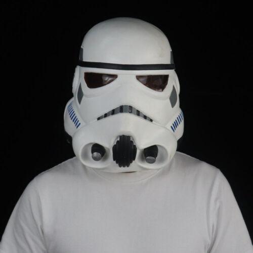 Star Wars Helmet Cosplay The Black Series Imperial Stormtrooper Helmet Latex NEW